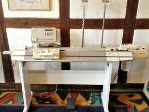 Passap E6000 knitting machine Pfaff - electronic knitting machine