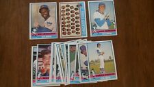 CHICAGO CUBS 1976 TOPPS TEAM SET (23) EXCELLENT+ CONDITION,