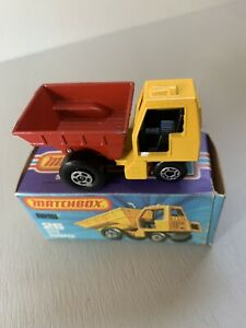 SITE DUMPER TRUCK ~ Matchbox SUPERFAST MB 26 C ~ Made in England in 1976