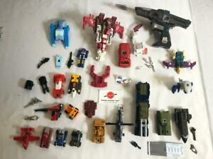 G1 Transformers lot Onslaught Scattershot Blurr Ironhide Combaticons Gobots etc.