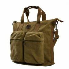 Pretty Green Men's Casual Canvas Tote Bag With Detachable Strap Khaki RRP £95
