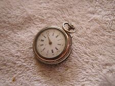 Antique Women's Pocket Watch Cylindre 6 Rubis
