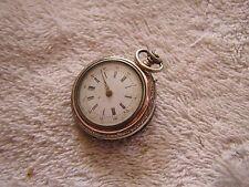 Antique Women's Pocket Watch Cylindre 6 Rubis