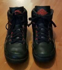 Nike Shoes Basketball Air Jordan 2 Ii Retro Boys 834276-001 Black Red Size 6Y