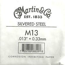 Martin & Co. - M13 - Corde à l'unité pour guitare acoustique - Acier