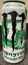 NEW MONSTER DRAGON TEA GREEN TEA ENERGY DRINK 15.5 FL OZ FULL CAN UNLEASH DRAGON