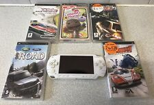 Sony Play Station Portable Value Pack 32MB Ceramin White Console + 6 Games