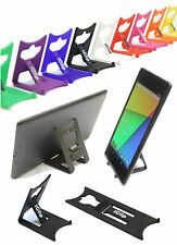 "ASUS Nexus 7"" 8"" Tablet Holder BLACK iClip Travel & Desktop Folding Stand"