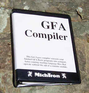 GFA BASIC COMPILER 2.02 for Atari 1040 ST NEW 3 RING