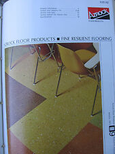 Azrock Asbestos Floor Tile 1973 Catalog Uvalde Rock Asphalt
