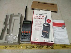 Radio Shack Handheld Scanner VHF/UHF/Air Pro-82 200 Channel Marine Weather