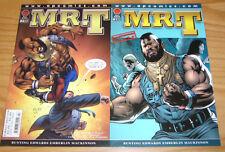 Mr. T #1-2 VF/NM complete series - apcomics - comics set lot - afrocentric hero