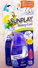 Mentholatum Sunplay Watery Icy Cool Sun Block Sunscreen Lotion Spf50 Pa+ 35g