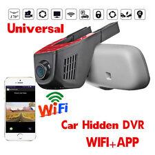 170° Hd 1080P Wifi Hidden Camera Car Dvr Video Recorder Night Vision Dash Cam(Fits: Fox)