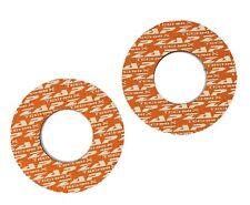 ZAP Neopren Griff Donuts 5mm orange/weiß für Motocross Enduro Offroad Supermoto