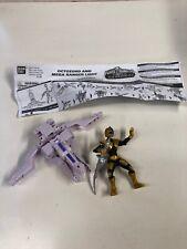 Power Rangers Super Samurai Incomplete Octozord and Mega Ranger LightT