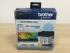 Brother LC30373PKS XXL INKvestment TANK Value Pack Super High-Yield Ink