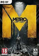 Metro Last Light  - PC DVD - New & Sealed