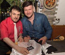 """Boxmantel di Europa maestro Alexander Dimitrenko; originale firmato a mano """"Charity"""""""