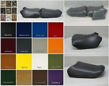 HONDA PC800 Pacific Coast Seat Covers with BACKREST COVER in GRAY or 25 Colors