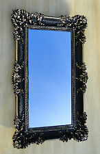 Miroir mural NOIR-OR MIROIR BAROQUE ANTIQUE badspiegel-97x57 Miroir pour couloir