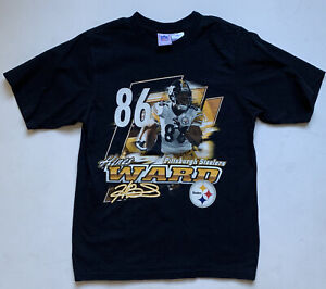 Vintage Pittsburgh Steelers Hines Ward NFL Tee Size Youth XL