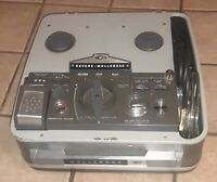 VINTAGE REVERE WOLLENSAK 3M T3000 REEL TO REEL SUITCASE TAPE RECORDER 3000