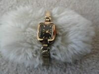 Vintage Timex Wind Up Ladies Watch - Stretch Band
