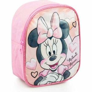 Kinderrucksack Rucksack Tasche Schultasche Disney Glitzer 24cm Minnie Mouse