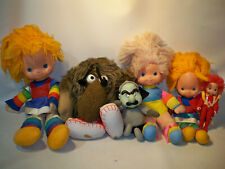 vintage Rainbow Brite Lurky toy doll character Lot