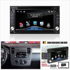 "6.2"" 2Din HD Car GPS Navigation Bluetooth Stereo DVD CD Player FM + 8G Map Card"