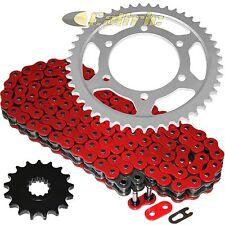 Red O-Ring Drive Chain & Sprockets Kit Fits YAMAHA R1 YZF-R1 2009-2014