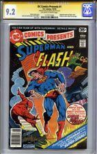 DC COMICS PRESENTS #1 CGC 9.2 SS JOSE LUIS GARCIA LOPEZ (1978, Superman & Flash)