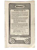 VINTAGE PRINT AD , 1917 ,  MARION-HANDLEY , MILWAUKEE - ORIGINAL