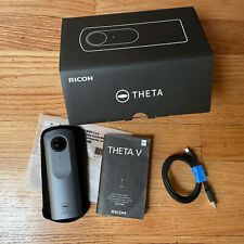 Ricoh THETA V 360 1X Digital Camera - Metallic Gray. Open Box. Used Once