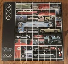 Springbok Hallmark 2000 Piece Jigsaw Puzzle Classic Cars Factory Sealed
