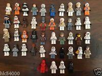 Personnage LEGO Star Wars (Minifig Figuren Figurine) vendu à l'unité avec arme