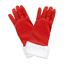 Red Sexy Santa Gloves Woman Female Christmas Costume Accessory