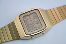 Vintage Seiko A714 LCD 'Running Man' Digital Alarm Chronograph, Mint, Japan '84