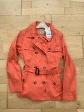 Girls Next Coral Shower Proof Coat Age 12 Yrs