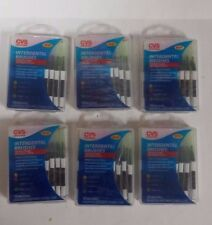 6 Cvs Interdental Brushes 10 Brushes Assorted Sizes With Travel Case