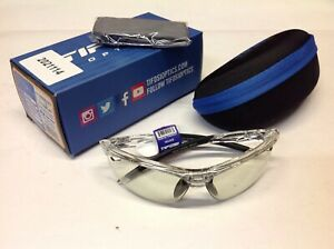 Tifosi Veloce Bicycling Sunglasses - Crystal Clear - Fototec Light Night Lenses