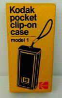 Kodak Pocket Clip-on Case Model 1 in Original Box for Kodak Instamatic 10 Camera