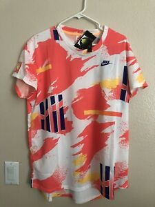 Nike Challenge Court Crew CK9797-100 NWT Size XL Agassi NWT