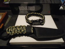 Biohazard Survival Knife and Matching Bracelet
