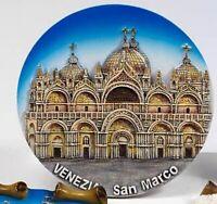 Plate Plate Relief Venice st Mark's Square, Souvenir Italy , New, 10 CM