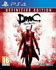 DMC Devil May Cry Definitive Edition PS4 PlayStation 4 Nuovo Di Zecca Sigillato