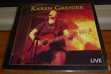 Karen Grenier-Karen Grenier LIVE  CD NEW