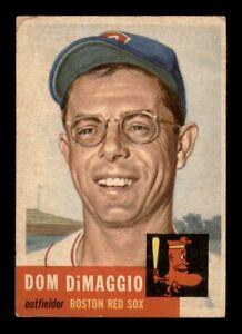 1953 Topps Set Break #149 Dom DiMaggio VG *OBGcards*