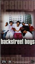 "BACKSTREET BOYS ""FOR THE FANS"" VHS 2000 fan club sealed"